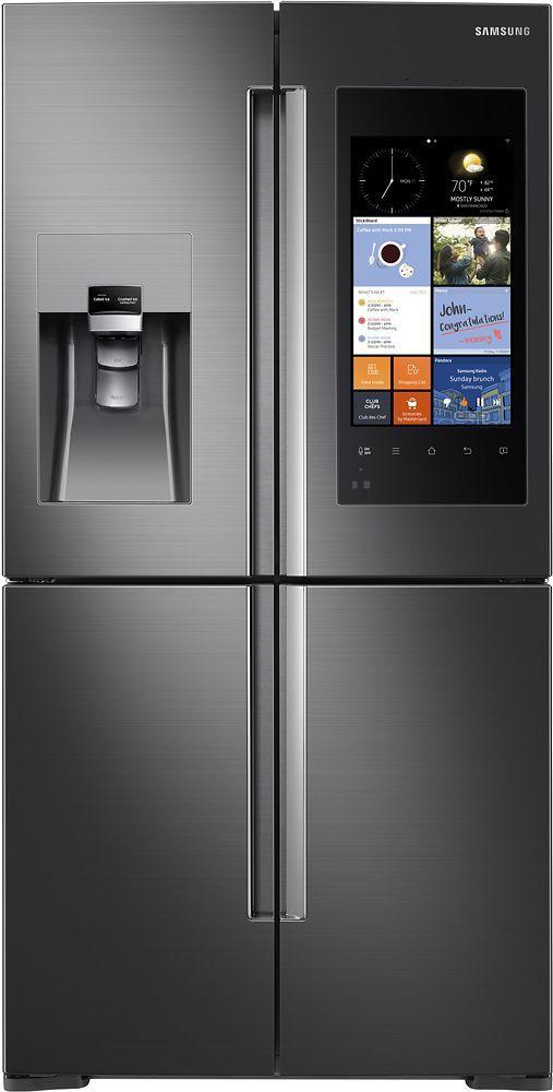 Samsung Family Hub 22 08 Cu Ft Counter Depth 4 Door Flex Smart