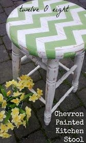 Chevron needs to be green for my kitchen!