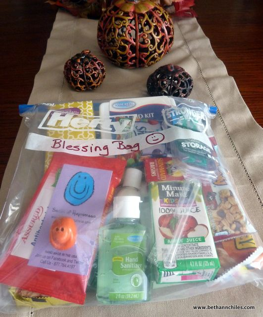 Blessing Bags To Hand Out Homeless