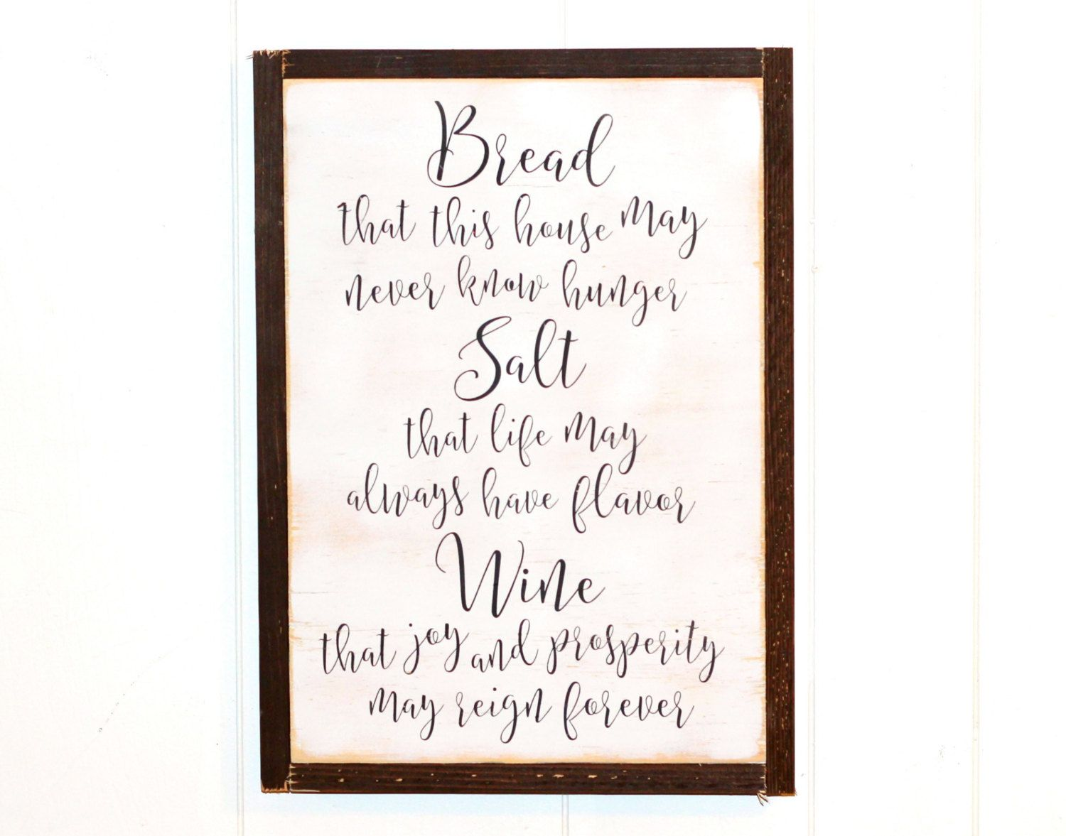 Bread salt wine quote from its a wonderful life