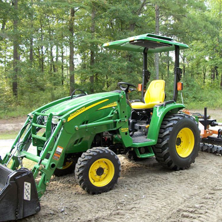 Tractor & Fiberglass Tractor u0026 Mower Canopy with Down Draft Fan - Green ...