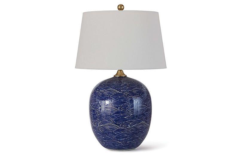 Harbor Table Lamp Blue Regina Andrew Lamp Table Lamp White Ceramic Lamps