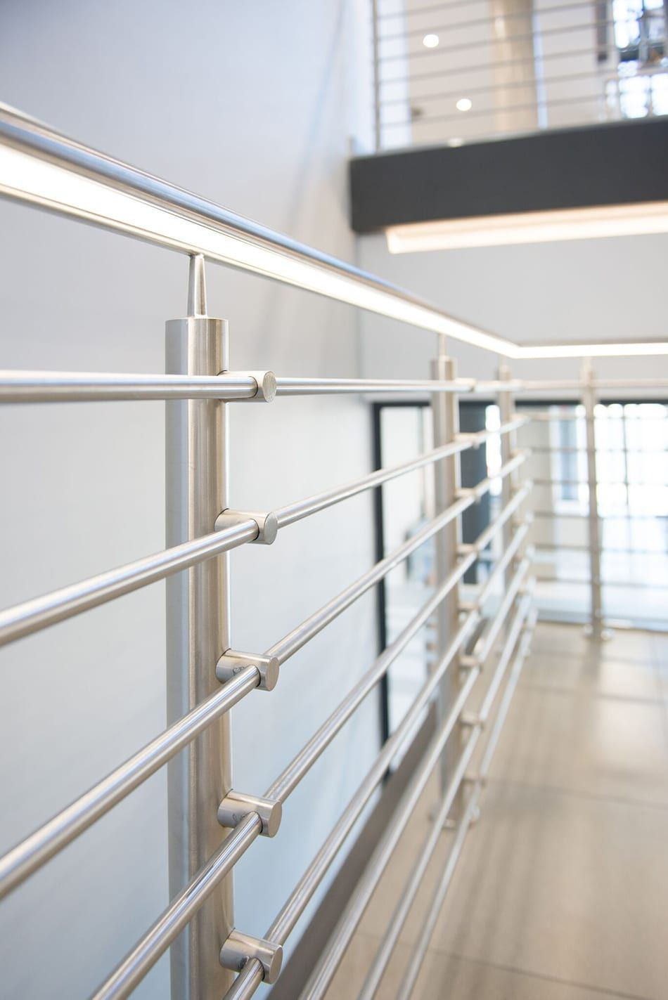 Why A Stainless Steel Balustrade Is The Smart Choice For Your New Home Steel Balustrade Steel Railing Design Stainless Steel Balustrade