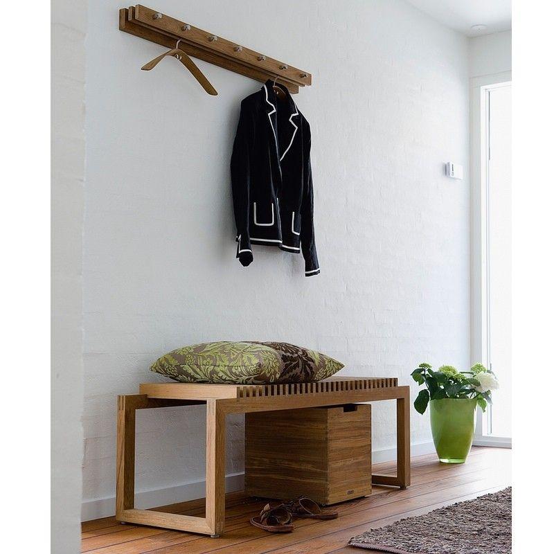 Skagerak Cutter Coat Rack 100 Teak Hallway Furniture Coat Rack