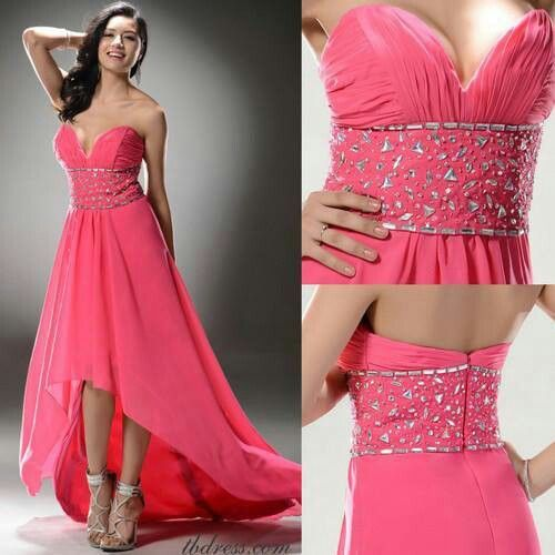 Gorgeous pink dress for the girly girls