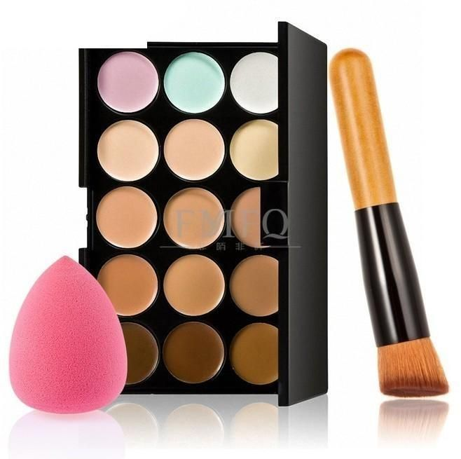 Photo of 15 Color Concealer Contouring Makeup Kit – send as picture 8
