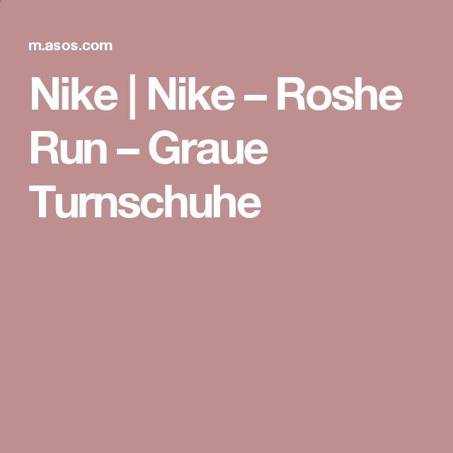 Nike | Nike – Roshe Run – Graue Turnschuhe