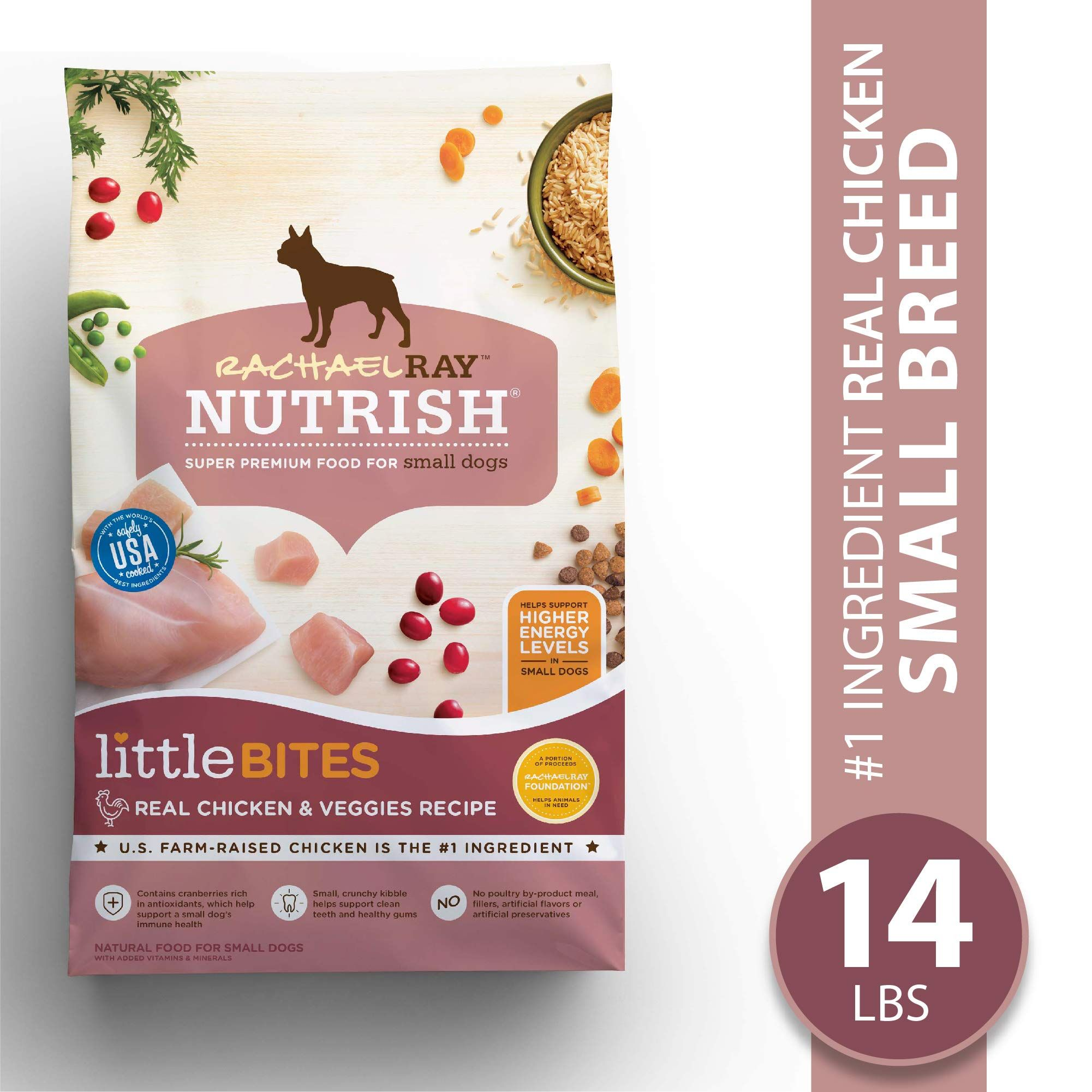 Rachael Ray Nutrish Little Bites Small Breed Natural Dry