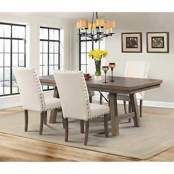 Dining Room Table Pads Reviews Prepossessing Jax 5Piece Dining Set  Home Ideas  Pinterest  Dining Decor Inspiration Design