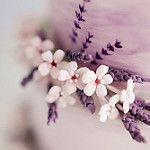 Watercolour wedding cake- Sugar flowers by Sugar Ruffles