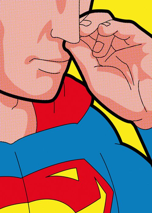 Superman by Greg Guillemin