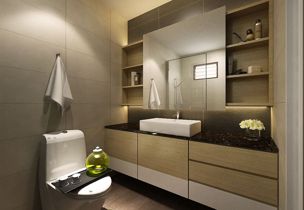 Residential Home Interior Design Contractor In Singapore Eight Design Small Bathroom Remodel Interior Design Singapore Residential Interior Design