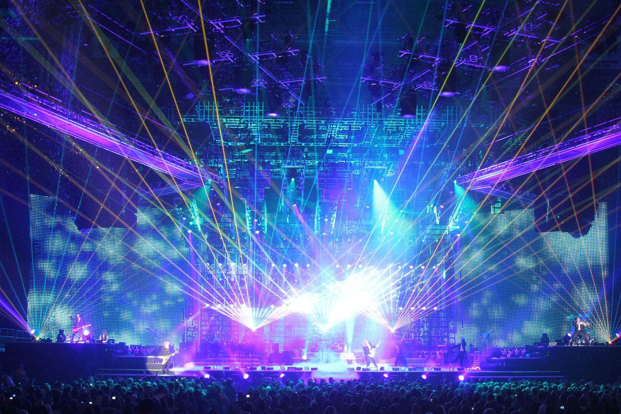 Rock Concert Stage Wibiya Toolbar On Staging Rock