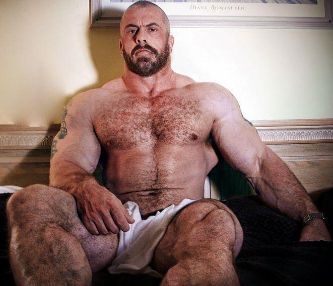 Big hairy men porn