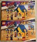 2x LEGO Movie 2 70831 Emmet  39 s Dream House  Rescue Rocket Kit Characters  char