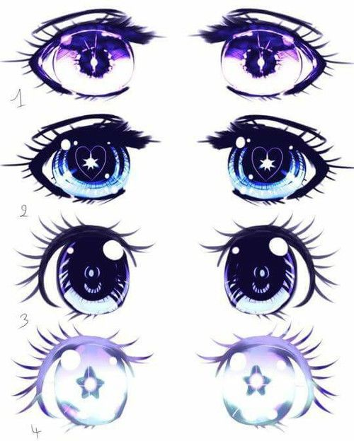 Manga Pastel Goth Draw Illustration Color Grunge Anime Eye Drawing Anime Eyes Manga Drawing