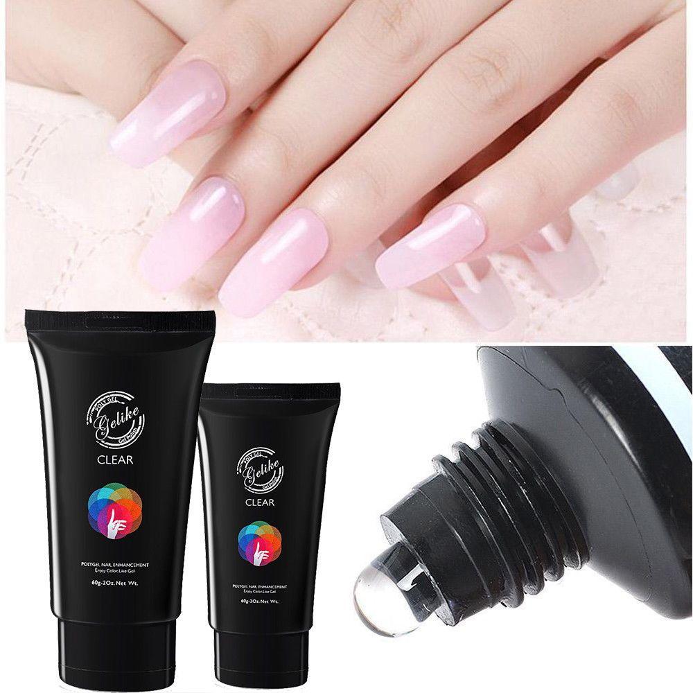 Diy Gel Nails No Uv Light Gel Nails Diy Dry Nails Gel Nail Tutorial