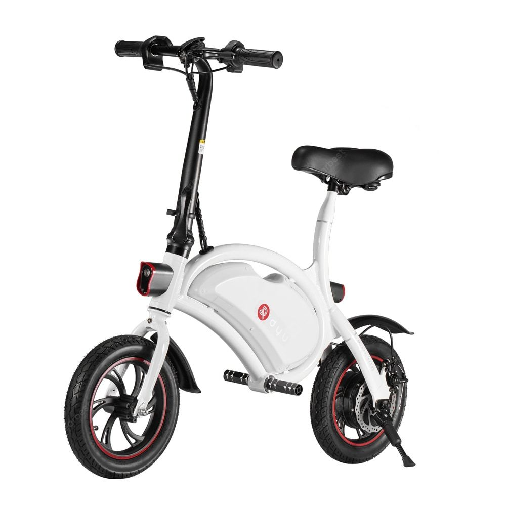 F Wheel D1 White Electric Bikes Sale Price Reviews Gearbest
