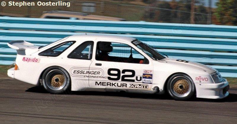 Mercury Merkur Xr4ti Kruse Racing Ford Sierra Ford Racing