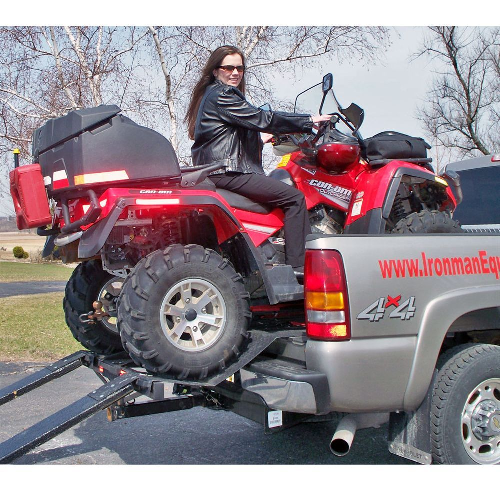 Haul an ATV, garden tractor or other vehicle in your truck