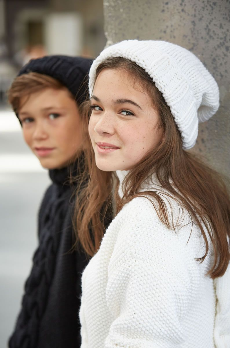 Lana Grossa MÜTZE Bingo - FILATI Teens No. 7 - Modell 37 | FILATI.cc WebShop