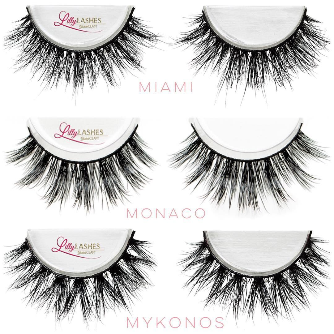 6e77c491fb5 My 3 Favorite 3D Mink @LillyLashes are finally restocked 1.