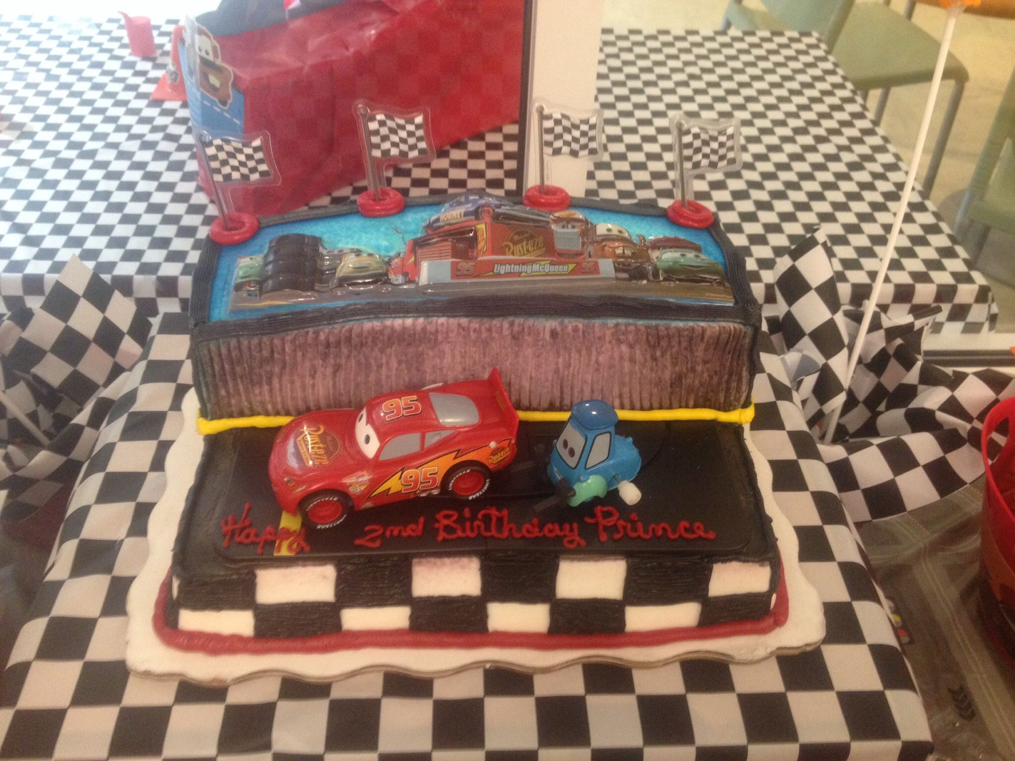 Marvelous Cars Birthday Cake From Walmart With Images Cars Birthday Birthday Cards Printable Opercafe Filternl