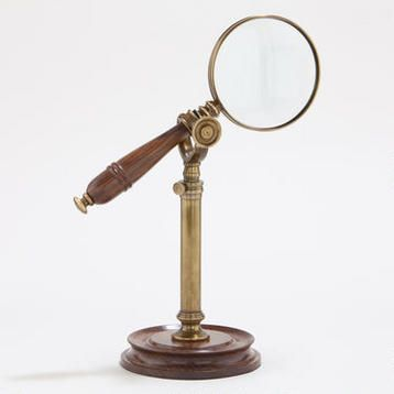 Magnifying Glass on Stand