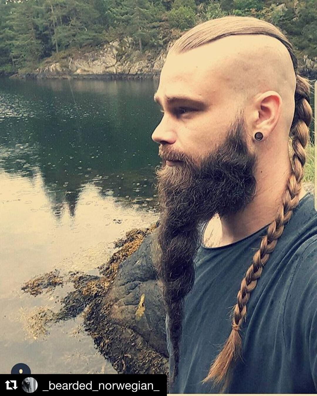 Coiffure Homme Viking Valhalla Live The Legend Bearded Guy Viking Hair