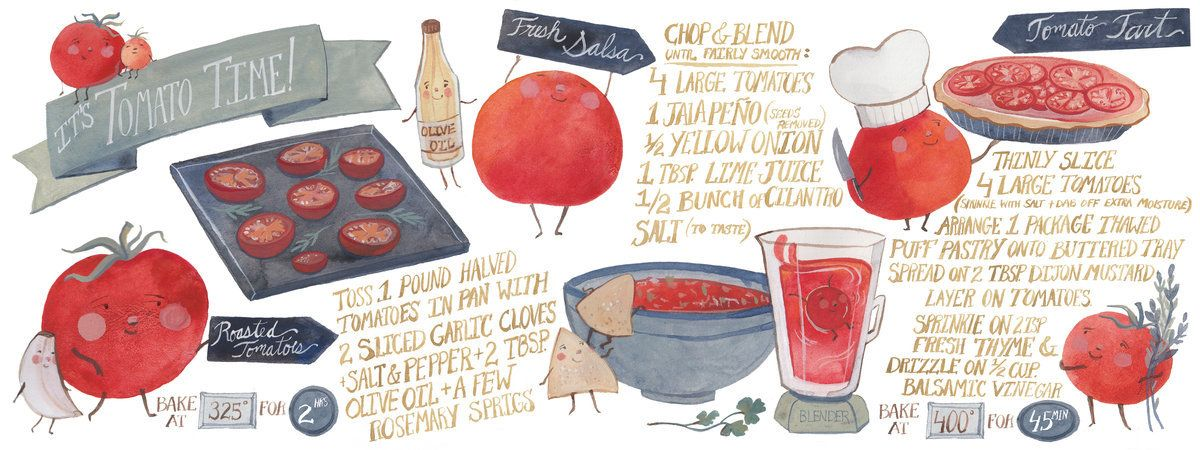 It's Tomato Time! by Kelsey Garrity-Riley on TDAC