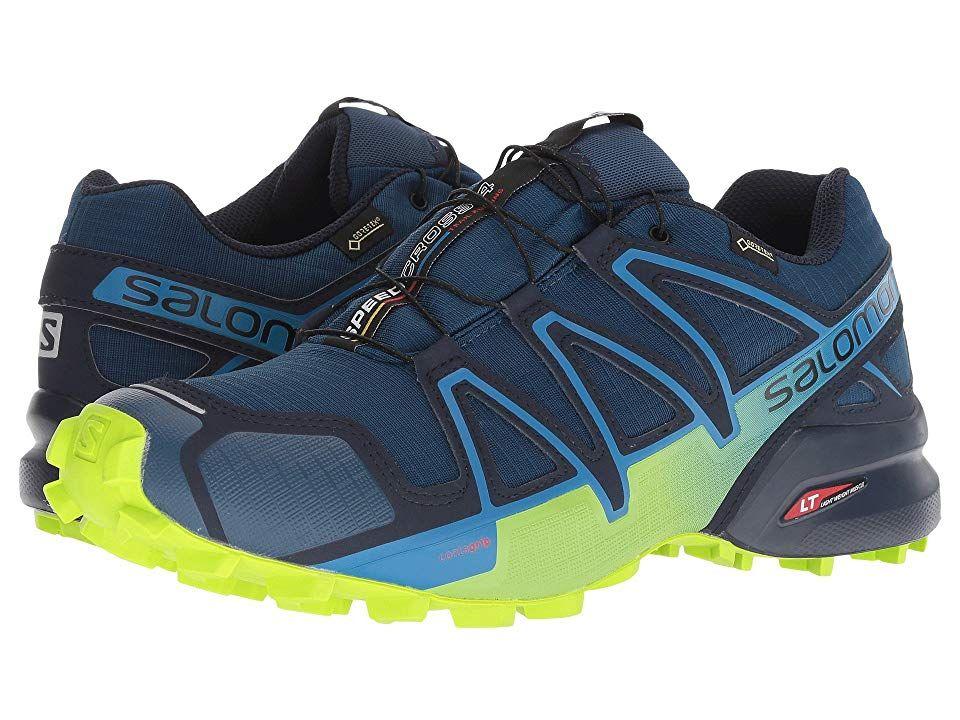 meilleure sélection 35bcf 87146 Salomon Speedcross 4 GTX Men's Shoes Poseidon/Navy Blazer ...