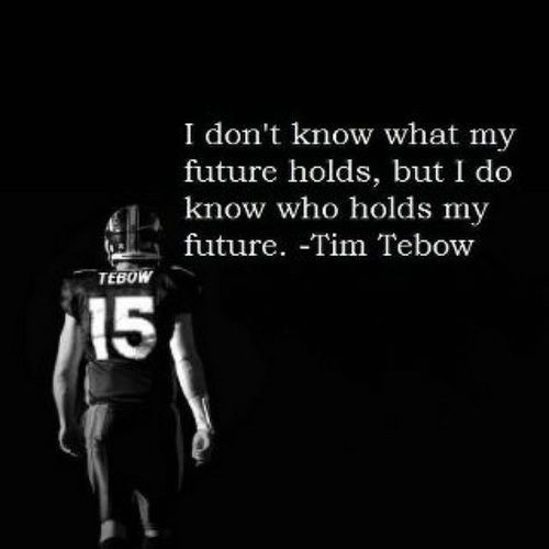 Motivational Quotes For Football Players: Tim Tebow A Great Football Player And An Outspoken