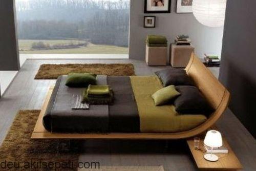 Feng Shui Schlafzimmer Ideen grasgrüne, natürliche