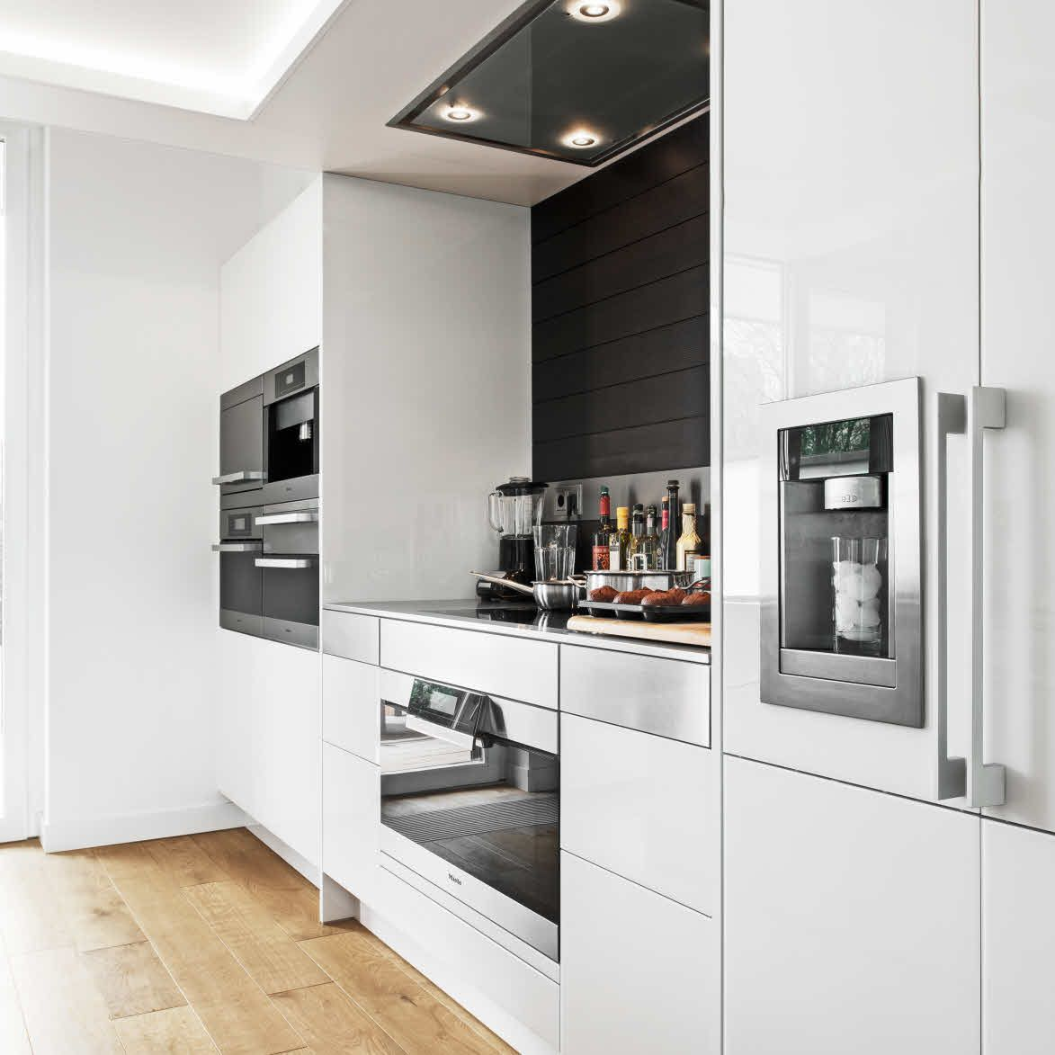 A legacy to some people, accommodate along one line, the ovens, hob ...