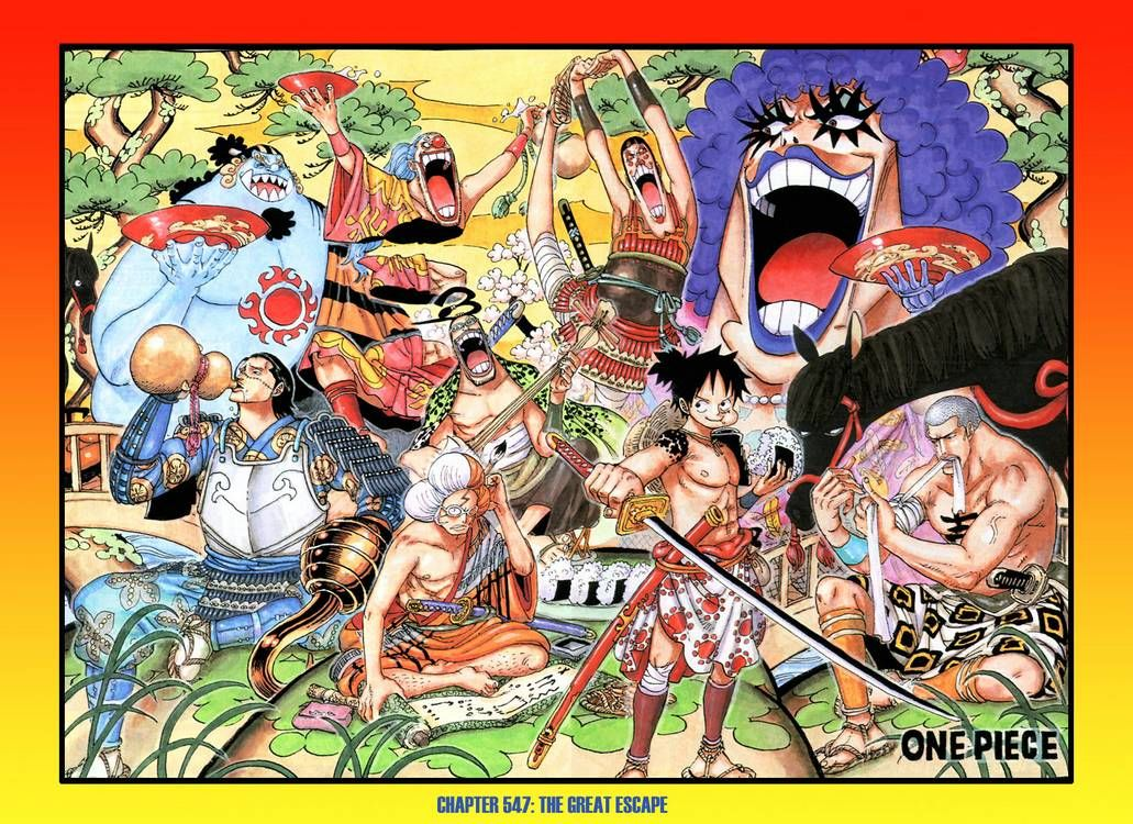 The Great Escape One Piece Pinterest One Piece Manga Et One