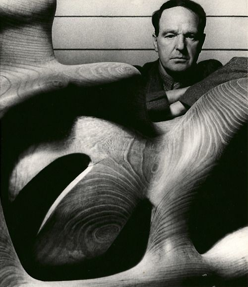 Henry Moore (photographer Bill Brandt)