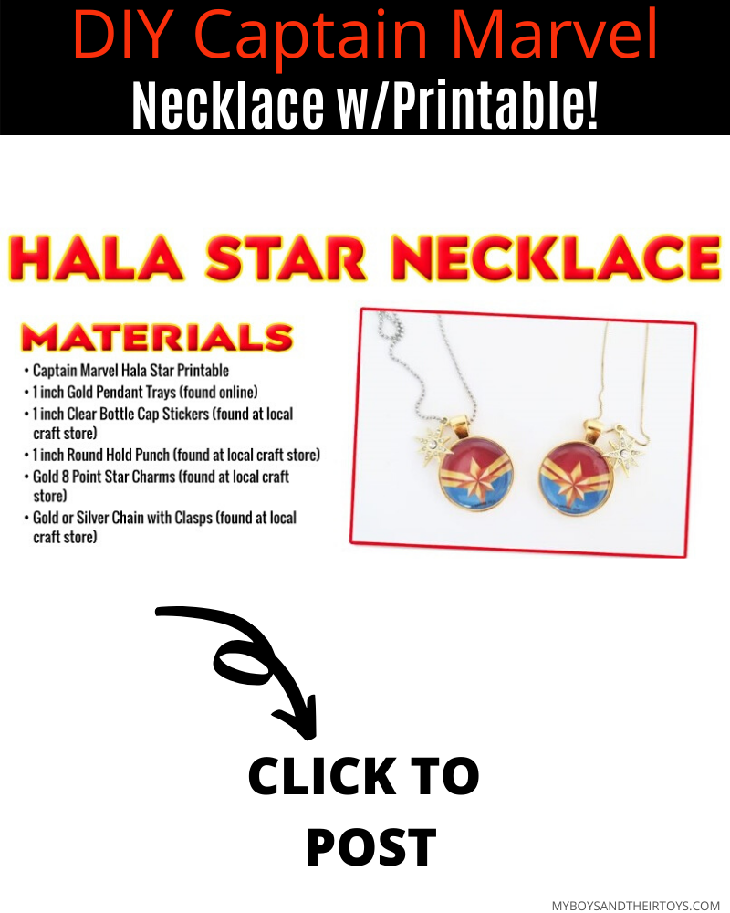Grab Captain Marvel On Blu Ray Diy Hala Star Necklace In 2020 Captain Marvel Captain Star Necklace