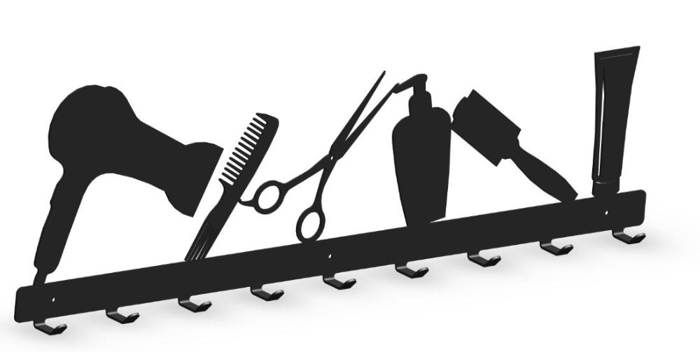 Wieszak Do Salonu Fryzjerskiego Model 034 Home Decor Decor Bookends
