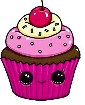 Cupcakes Smile Dibujos Kawaii Dibujos De Unicornios A Dibujos