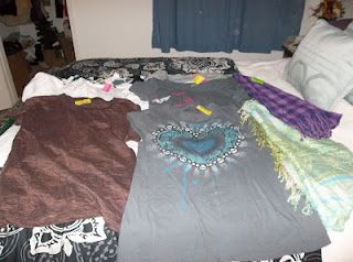 thrift shop clothing finds