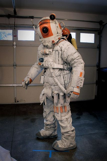 737bd3be Homemade Spacesuit by Sam McJunkin Retro Futurism, Space Suits, Costume  Design, Cosmos,