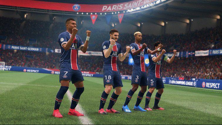 """EA FIFA France on Twitter """"🔥Jouez ensemble, soyez"""