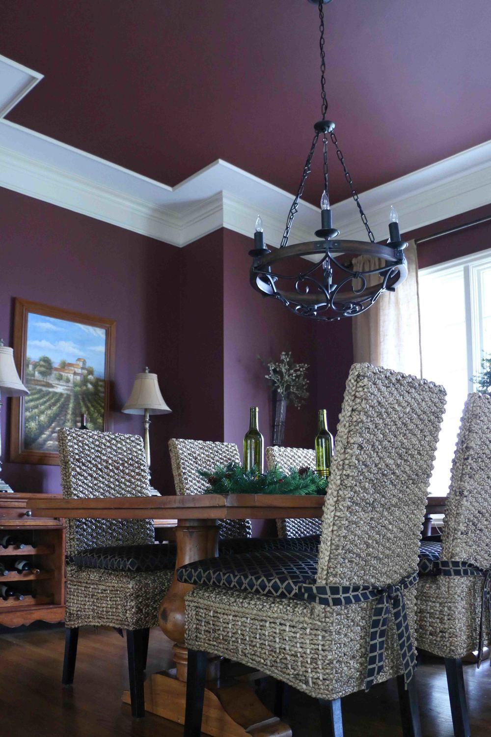 Formal Dining Room With Seagrass Chairszgalleriechair Pads Adorable Dining Room Colors Sherwin Williams Decorating Design