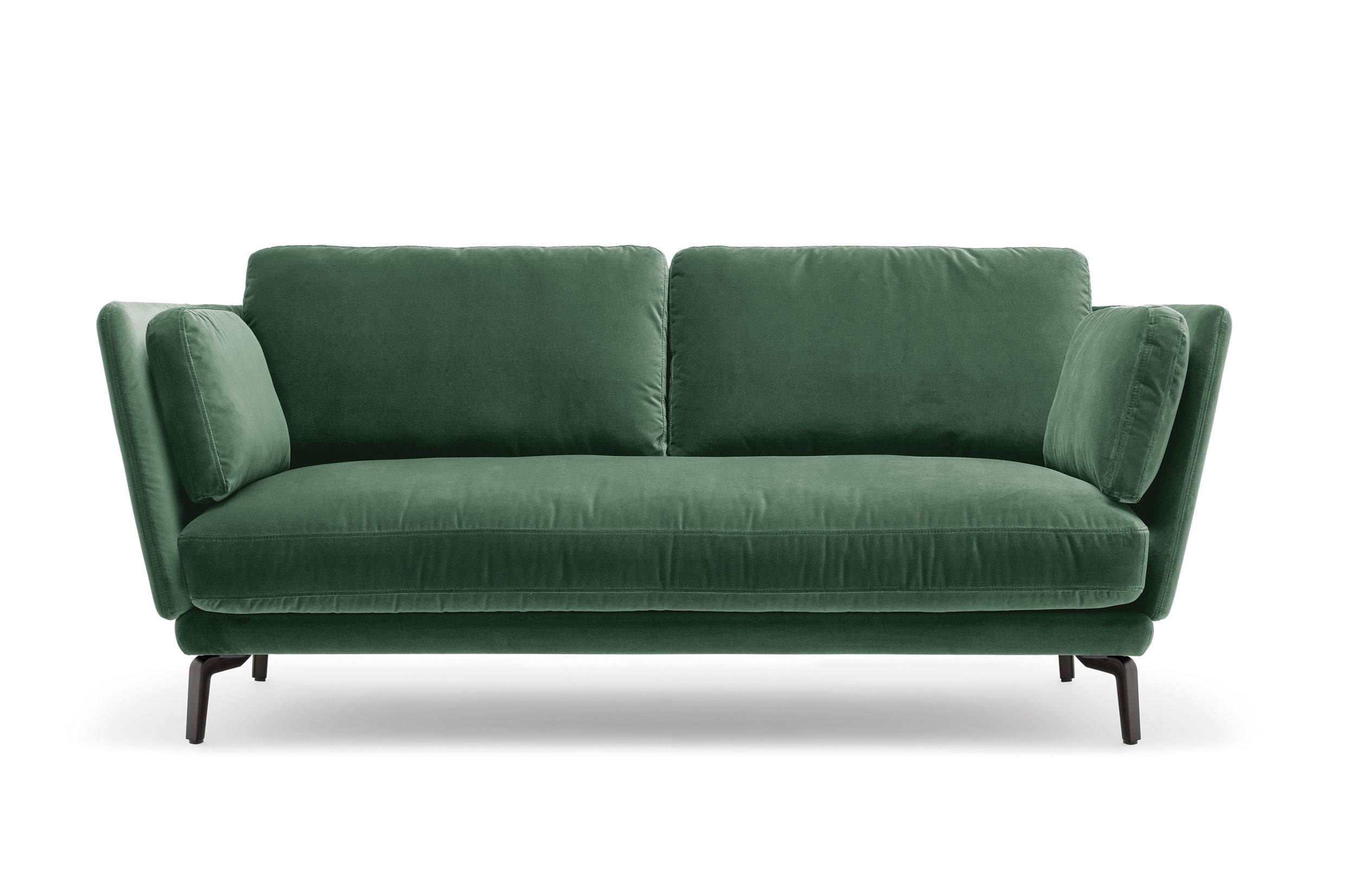 A striking beauty new Rolf Benz RONDO sofa in velvet Get yours