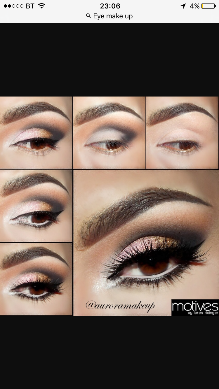 Pin by ana garza on makeup pinterest make up beautiful eyes smokey eye makeup is the most irresistible look for party in this step by step smokey eye makeup tutorial i have written easy steps of smokey eye makeup baditri Gallery