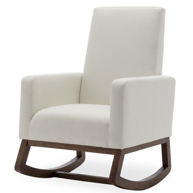 Kell Rocking Chair In 2020 Modern Rocking Chair Rocking Chair Nursery Rocking Chair