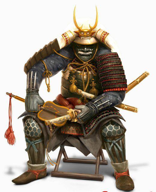 Anime Samurai Warrior | ... Robot designed to look like a ...