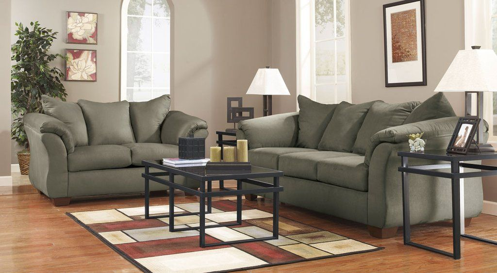 Darcy Sofa Loveseat Green Couch Living Room Couches Living Room Living Room Sets