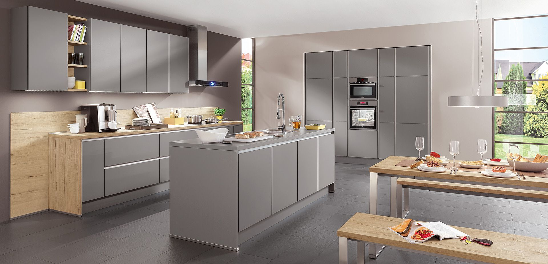 Küchengalerie: Ideengeber für Ihre neue Küche | küche | Pinterest