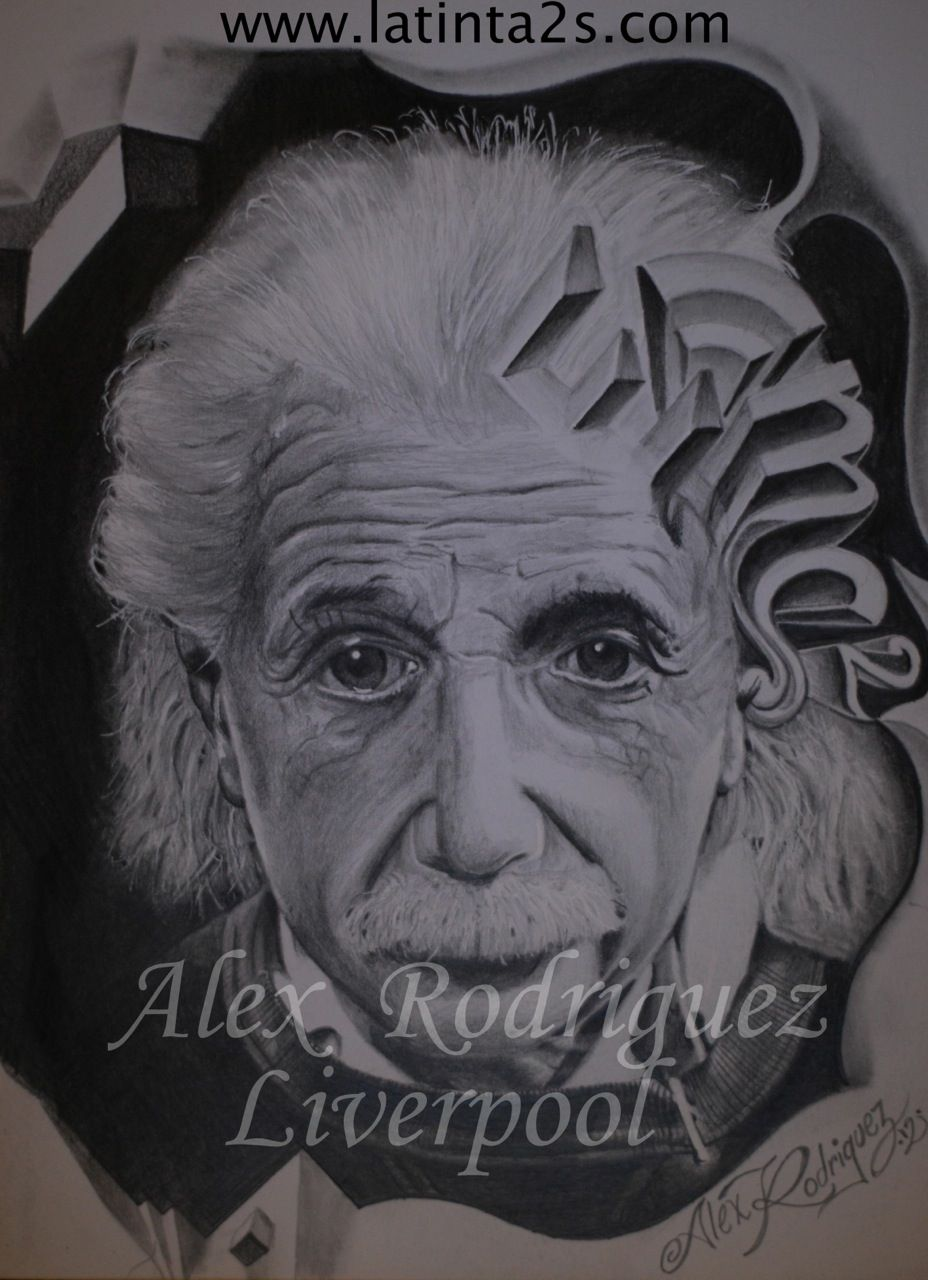 Albert Einstein E Mc2 Tattoo Artists Love Art Portrait Tattoo